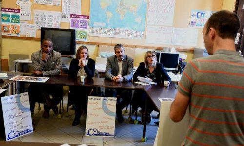 Une journée à la rencontre des écoles avec la Ministre Caroline Désir