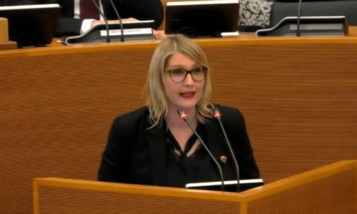 Vidéo – Première proposition de décret au Parlement de Wallonie